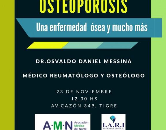 CONFERENCIA OSTEOPOROSIS