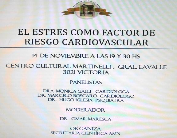EL ESTSTRES COMO FACTOR DE RIESGO CARDIOVASCULAR